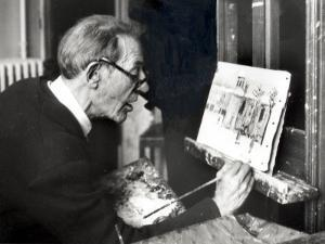 Maurice Utrillo, May 15, 1954 by Luc Fournol