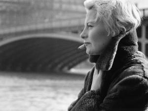 Michèle Morgan in Paris by Luc Fournol