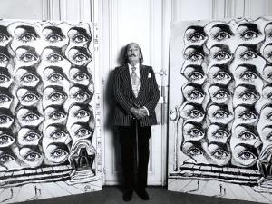 Salvador Dali (1904-1989) by Luc Fournol