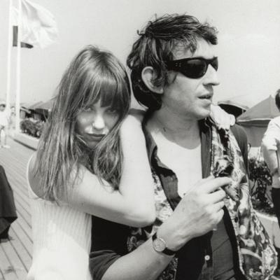 Serge Gainsbourg and Jane Birkin, July 23, 1970 by Luc Fournol
