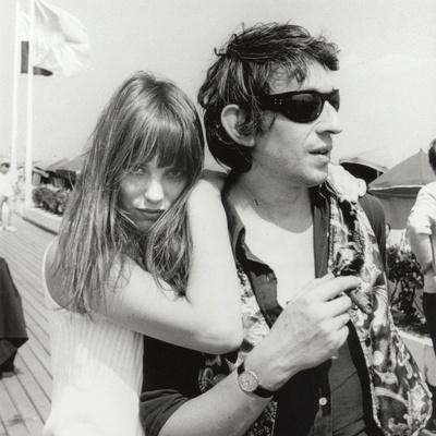 Serge Gainsbourg and Jane Birkin, July 23, 1970