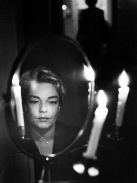 Simone Signoret (1921-1985) by Luc Fournol