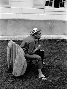 Simone Signoret, 1958 by Luc Fournol