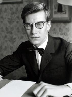 Yves Saint Laurent, July 1960 by Luc Fournol