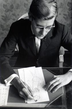 Yves Saint Laurent (July 1960) by Luc Fournol