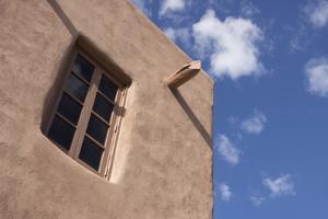 New Mexico, Santa Fe. Typical Southwestern Hispanic Style Architecture by Luc Novovitch