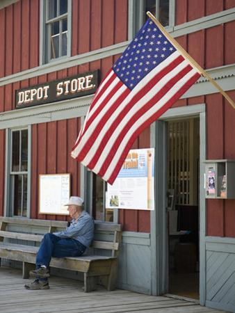 Owned by the State of Montana, the Museum Is a Collection of Buildings, Nevada City, Montana, Usa