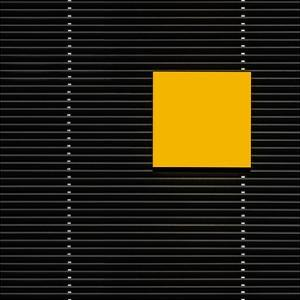 Yellow square by Luc Vangindertael