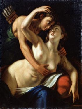 Venus and Adonis, 16th Century by Luca Cambiaso