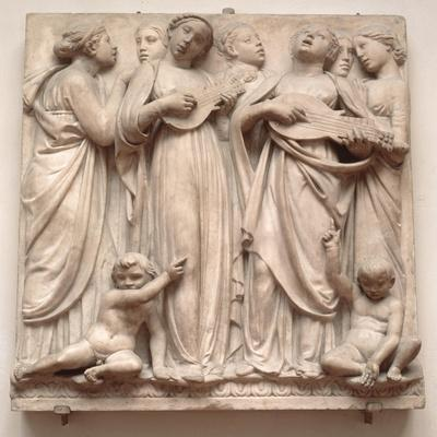 Singing Angels, Relief from the Cantoria, C.1432-38