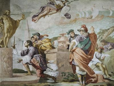 Lycaon, Antenor's Son, Consecrating Apollo's Dagger in Delphi, Episode of Myth of Antenor, 1650