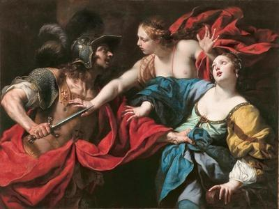 Venus Preventing Her Son Aeneas from Killing Helen of Troy, C.1650