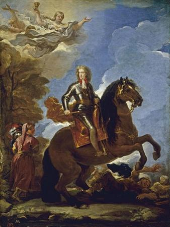 Equestrian Portrait of Charles II of Spain, before 1694