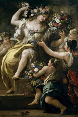 Flora, Goddess of Flowers, Ca. 1697