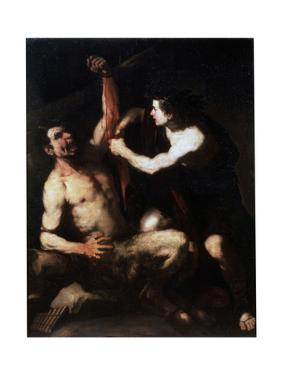 Marsyas and Apollo, Early 1650S by Luca Giordano