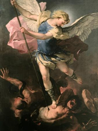 Saint Michael the Archangel, Ca 1663 by Luca Giordano