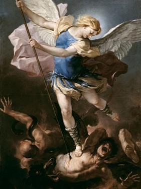 St. Michael, about 1663 by Luca Giordano