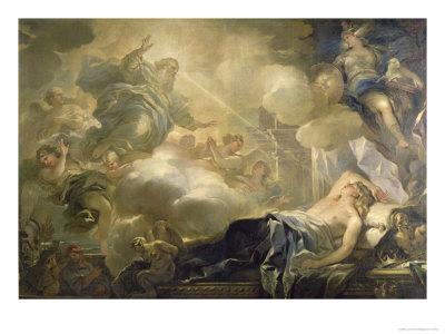 The Dream of Solomon, c.1693