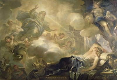 The Dream of Solomon, c.1693