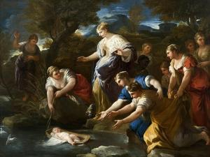The Finding of Moses, c.1685-1690 by Luca Giordano