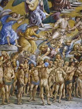 Blessed in Paradise, from Last Judgment Fresco Cycle, 1499-1504 by Luca Signorelli