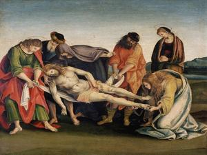 Christ Being Carried to His Tomb, C.1507 by Luca Signorelli