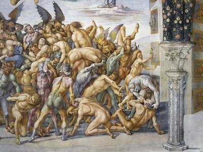 Damned in Hell, from Last Judgment Fresco Cycle, 1499-1504