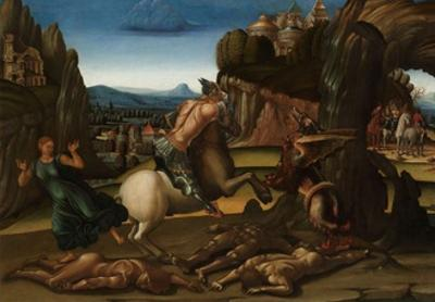 Saint George and the Dragon, c.1500 by Luca Signorelli
