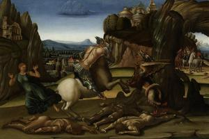 Saint George and the Dragon by Luca Signorelli
