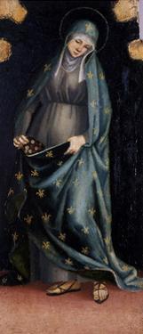 St. Casilda, C.1515-20 by Luca Signorelli