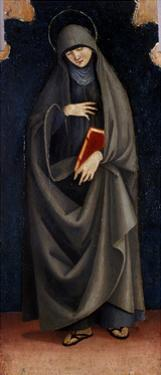 St. Clare, C.1515-20 by Luca Signorelli