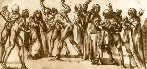 Studies by Luca Signorelli, 1913 by Luca Signorelli