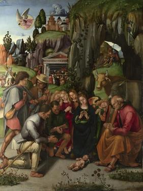 The Adoration of the Shepherds, C. 1496 by Luca Signorelli