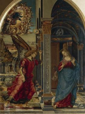 The Annunciation, 1491 by Luca Signorelli