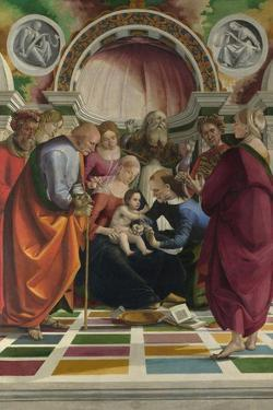 The Circumcision, C. 1490 by Luca Signorelli