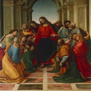The Communion of the Apostles by Luca Signorelli