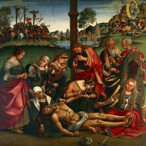 The Deposion or the Lamentation over the Dead Christ, 1502 by Luca Signorelli