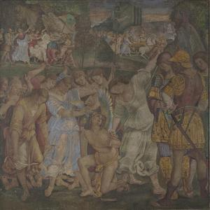 The Triumph of Chastity: Love Disarmed and Bound, 1509 by Luca Signorelli