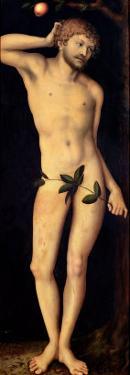 Adam, 1528 by Lucas Cranach the Elder