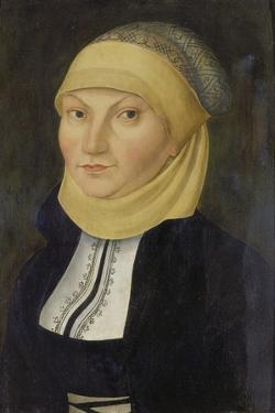 Bildnis Der Katharina Von Bora, Gemahlin Martin Luthers by Lucas Cranach the Elder