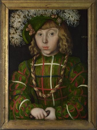 John Frederick I, Elector of Saxony (1503-155), 1509 by Lucas Cranach the Elder