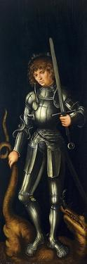 Saint George, Ca 1514 by Lucas Cranach the Elder