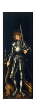 Saint George, Ca 1514 by Lucas Cranach the Elder
