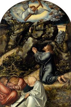 The Agony in the Garden, C. 1520 by Lucas Cranach the Elder