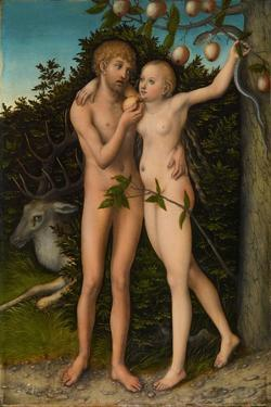 The Fall of Man, after 1537 by Lucas Cranach the Elder