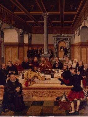 The Last Supper by Lucas Cranach the Elder