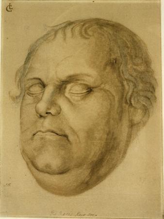 Posthumous Portrait, Martin Luther, 1546