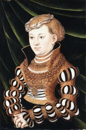 Portrait of Princess Margaret Von Sachsen