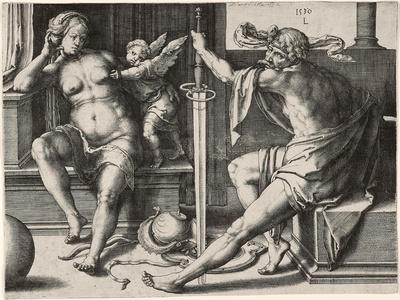Mars, Venus, and Cupid, 1530