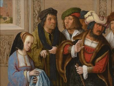 Potiphar's Wife Displays Joseph's Garment, C. 1512